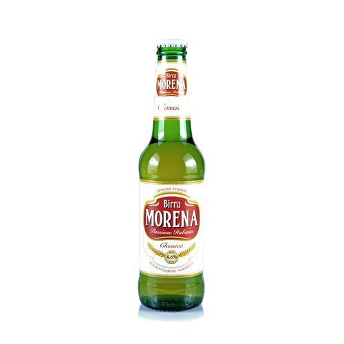 Morena Classica 33cl cassa da 24 pz - 4,6 % alc. vol. - Birra Lager