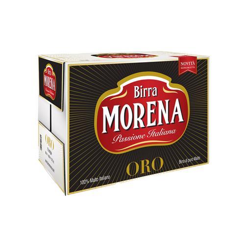 Morena ORO 66cl cassa da 15 pz - 5,2 % alc. vol. - Birra di Puro Malto