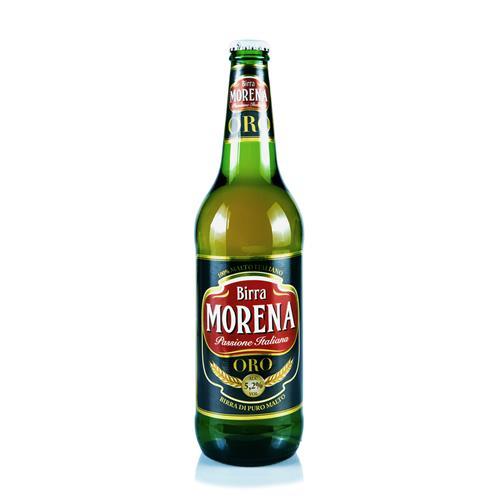 Morena ORO CL 66 cassa da 15 PZ – 5,2 % alc. vol. - Birra di Puro Malto
