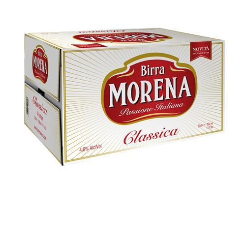 Morena Classica CL 66 cassa da 15 PZ – 4,6 % alc. vol. - Birra Lager