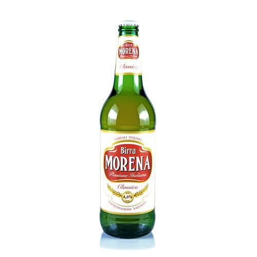 Morena Classica 66cl cassa da 15 pz - 4,6 % alc. vol. - Birra Lager