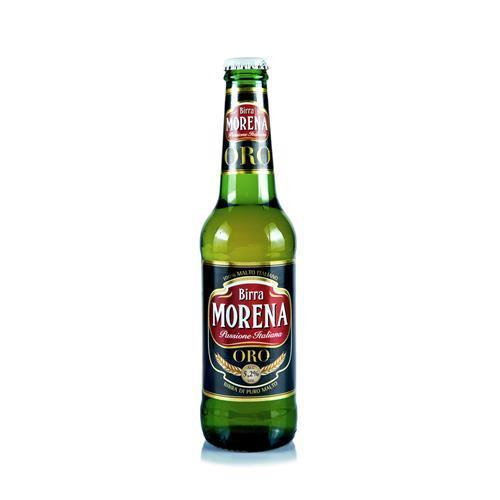 Morena ORO CL 33 cassa da 24 PZ – 5,2 % alc. vol. - Birra di Puro Malto
