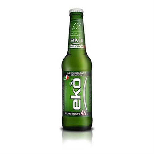 Birra Ekò Bio CL 33 cassa da 24 PZ - 4,6 % alc. vol. - Birra Morena - Biologica