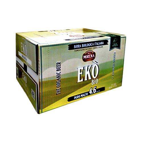 Ekò Bio 33cl cassa da 24 pz - 4,6 % alc. vol. - Biologica