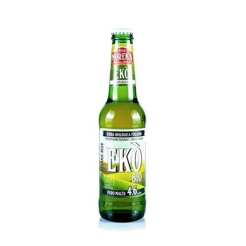 Ekò Bio CL 33 cassa da 24 PZ - 4,6 % alc. vol. - Birra Morena - Biologica