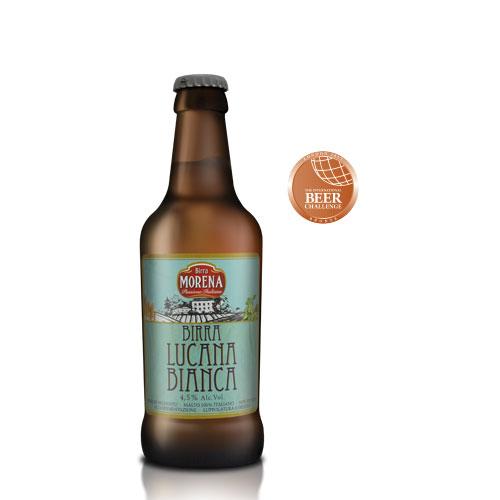 Lucana Bianca CL 33 cassa da 12 - 4,5 % alc. vol.- Craft Beer - Birra Morena - Cruda -  Luppolatura a freddo