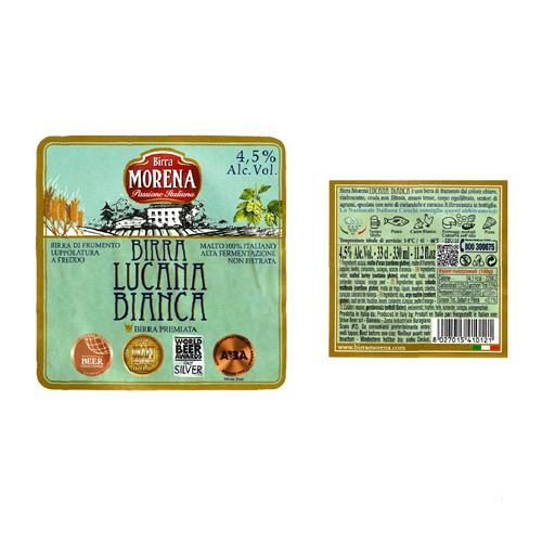 Lucana Bianca 33cl cassa da 12 pz - 4,5 % alc. vol.- Craft Beer