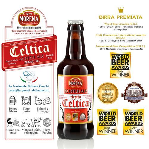 Celtica Scotch Ale 33cl cassa da 12 pz - 7,6 % alc. vol. - Craft Beer