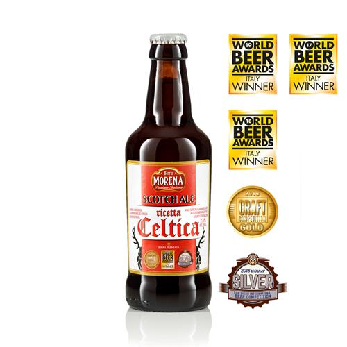 Celtica Scotch Ale 33cl cassa da 12 pz - 7,6 % alc. vol. - Craft Beer