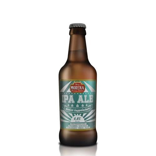 IPA ALE CL 33 - cassa da 12 PZ - 6,8 % alc. vol. -  Craft Beer - Birra Morena - 12 Luppolature