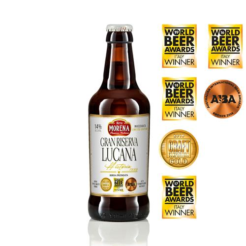 Gran Riserva Lucana 33cl cassa da 12 pz -14 % alc. vol. - Craft Beer