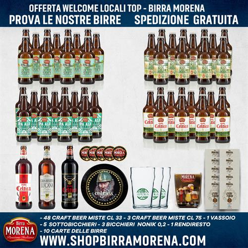 Offerta Welcome Locali Top - Birra Morena