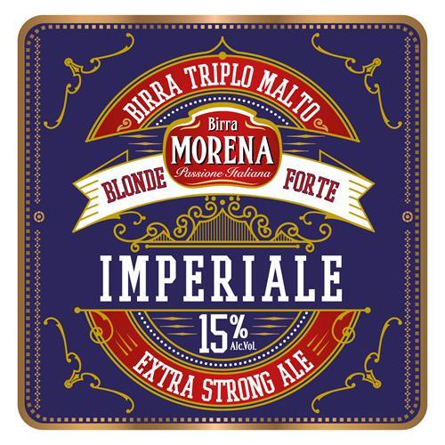 Morena Imperiale 15% Alc. Vol. CL 33 cassa da 24 PZ – Extra Strong Ale