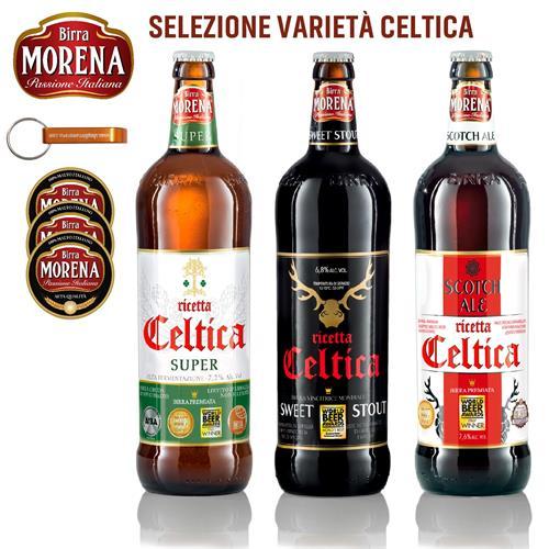 SELEZIONE VARIETA' CELTICA - Birra Morena -