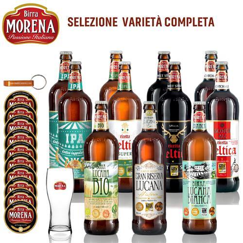 SELEZIONE COMPLETA - Birra Morena -