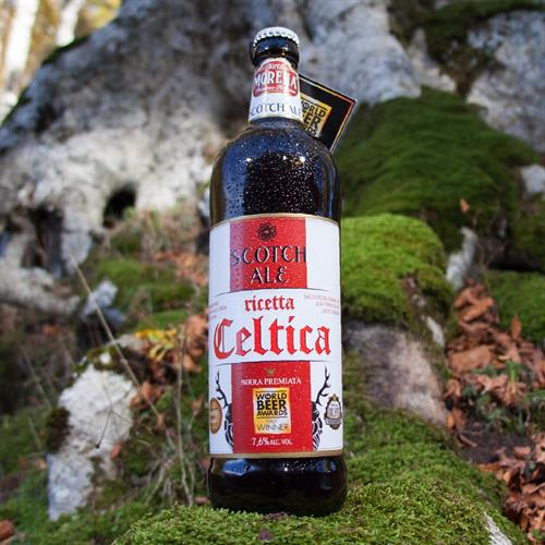 Celtica Scotch Ale CL 75 - 7,6 % alc. vol. - Craft Beer - Doppio Malto Ambrata