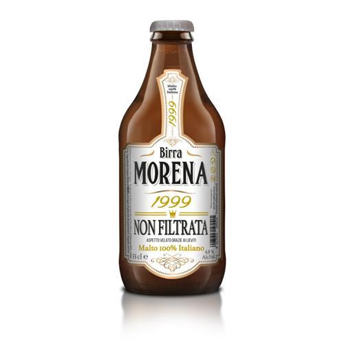 """Birra Morena """"1999 NON FILTRATA"""" cassa da 24 pz 33cl - 4,8% alc.vol."""