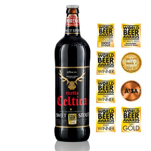 Celtica Sweet Stout 75cl - 6,8 % alc. vol. - Craft Beer