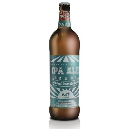 IPA ALE CL 75 - 6,8 % alc. vol. - Craft Beer - Birra Morena - 12 luppolature
