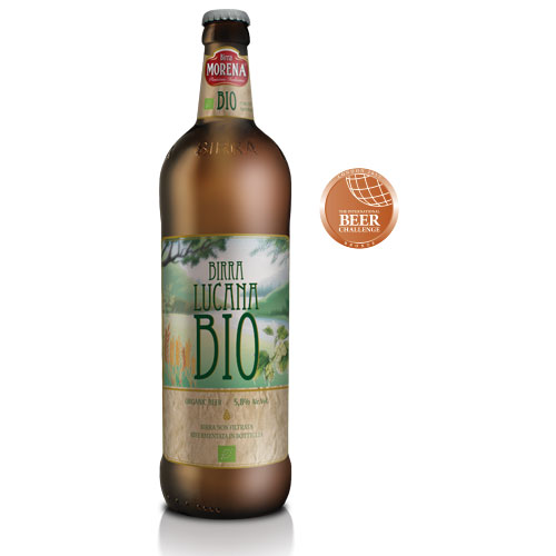 Lucana Bio cl 75 - 5,8 % alc. vol.- Craft Beer -Birra Morena - Cruda Speciale -
