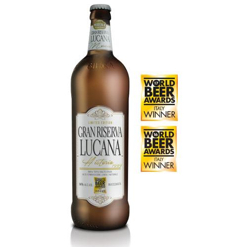 Gran Riserva Lucana  CL 75 -14% alc. vol. - Craft Beer - Birra Morena - Triplo Malto Invecchiata