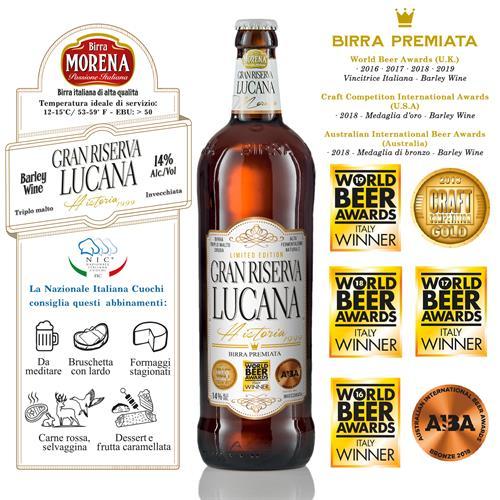 Gran Riserva Lucana 75cl -14% alc. vol. - Craft Beer